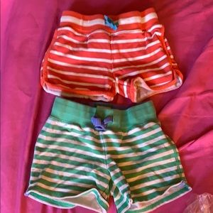 Mini Boden girls retro shorts sz 6